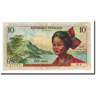 Billet, French Antilles, 10 Francs, Undated (1964), KM:8b, TB+ - Caraïbes Orientales