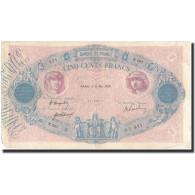 France, 500 Francs, 1920-05-11, KM:66e, TB+, Fayette:30.24 - 1871-1952 Anciens Francs Circulés Au XXème