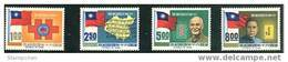 Taiwan 1971 60th Anni Of Rep China Stamps Music Book CKS SYS Map Famous Chinese National Flag - Unused Stamps