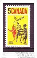 Canada, 1968, #483, Crosse, Sport Inventé Par Les Indiens D'amérique, Amérindiens, Amerindians - Timbres