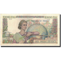 France, 10,000 Francs, 1949-12-22, KM:132b, TTB, Fayette:50.23 - 10 000 F 1945-1956 ''Génie Français''