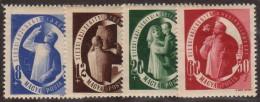 HUN SC #B195-8 MH (HR) 1947 S-P / Charitable Purposes CV $13.75 - Hungary