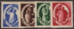 HUN SC #B195-8 MH (HR) 1947 S-P / Charitable Purposes CV $13.75 - Unused Stamps