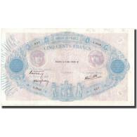 France, 500 Francs, 1938-05-05, KM:88c, TTB+, Fayette:31.10 - 1871-1952 Anciens Francs Circulés Au XXème