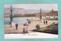 Small Postcard Of Quai Du Mont-Blanc,Geneve,Geneva,Switzerland,Q87. - GE Geneva