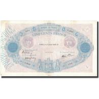 France, 500 Francs, 1938-07-15, KM:88c, TTB, Fayette:31.18 - 1871-1952 Anciens Francs Circulés Au XXème