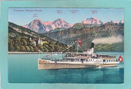 Small Postcard Of Schloss Hunegg,Thunersee,Thun, Berne, Switzerland,Q87. - BE Berne
