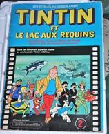Rare Livret Vignettes Autocollantes ACEducatifs Tintin Et Le Lac Aux Requins 147/182 Vignettes - Stickers