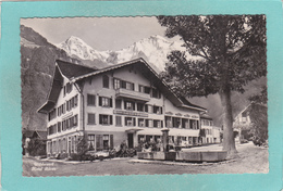 Small Postcard Of Hotel Baren,Wilderswil, Berne, Switzerland,Q87. - BE Berne