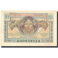France, 10 Francs, 1947 French Treasury, 1947, 1947, KM:M7a, SPL, Fayette:VF30.1 - Tesoro