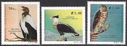 El Salvador  1989   Sc#1221-3   Birds Of Prey MNH**  2016 Scott Value $3.50 - Águilas & Aves De Presa