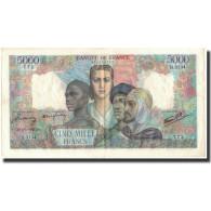 France, 5000 Francs, 1947-01-09, KM:103c, SUP, Fayette:47.58 - 1871-1952 Anciens Francs Circulés Au XXème