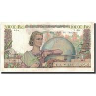 France, 10,000 Francs, 1951-03-01, KM:132c, TTB, Fayette:50.48 - 10 000 F 1945-1956 ''Génie Français''