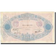 France, 500 Francs, 1939-10-05, KM:88c, TTB, Fayette:31.42 - 1871-1952 Anciens Francs Circulés Au XXème