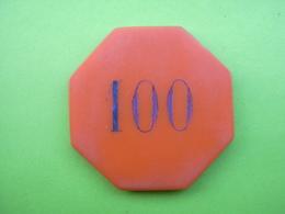 Jeton Casino 100fr Casino SC A Identifier - Casino