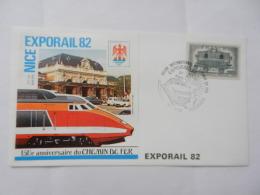 1982 NICE EXPORAIL - Eisenbahnen