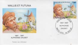 Enveloppe  FDC  1er  Jour   WALLIS  ET  FUTUNA    Alphonse   DAUDET    1997 - FDC