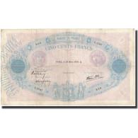 France, 500 Francs, 1938-03-24, KM:88c, TB, Fayette:31.6 - 1871-1952 Anciens Francs Circulés Au XXème