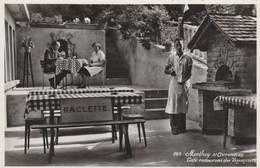 CPSM  - SUISSE - MORTHEY-s-OVRONNAZ - Café-Restaurant Des Voyageurs - 041 - Autres