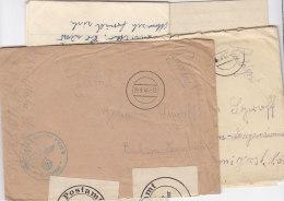 Feldpost Vom Hafenkommandant Libau Aus 1941 Beide Briefe Mit Inhalt / Nach Bochum-Langendreer - Briefe U. Dokumente