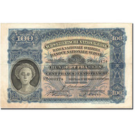 Billet, Suisse, 100 Franken, 1921-1928, 1939-08-03, KM:35i, TTB - Suiza
