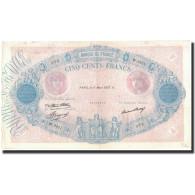 France, 500 Francs, 1937-03-11, KM:66m, TTB, Fayette:30.38 - 1871-1952 Anciens Francs Circulés Au XXème