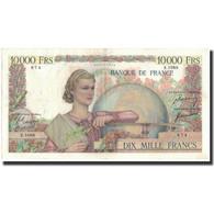 France, 10,000 Francs, 1950-12-21, KM:132c, TTB+, Fayette:50.46 - 1871-1952 Gedurende De XXste In Omloop