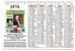 CAL04 - CALENDARIETTO 2018 - L'INFORMAZIONE DEL COLLEZIONISTA - Calendari