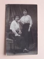 2 Dames / Femmes / Frau / Woman () Verstuurd BORGERHOUT > HULST Holland 1916 - Deutsches Reich ( Zie Foto's ) ! - Lugares