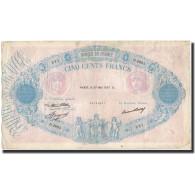 France, 500 Francs, 1937-05-27, KM:66m, TB+, Fayette:30.38 - 1871-1952 Anciens Francs Circulés Au XXème