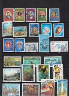 Lot De 87 Timbres Obliterés - Collections, Lots & Séries