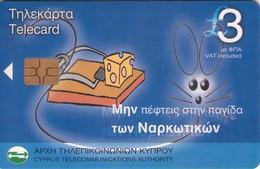 TARJETA TELEFONICA DE CHIPRE. (130). - Chipre