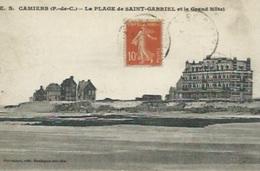 Camiers - Plage Saint Gabriel -  La Plage Saint Gabriel Et Le Grand Hôtel - France