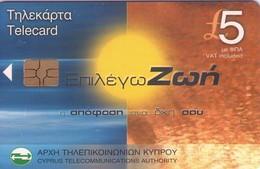 TARJETA TELEFONICA DE CHIPRE. (132). - Chipre