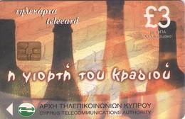 TARJETA TELEFONICA DE CHIPRE. (133). - Chipre