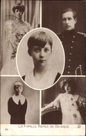 Cp Roi Albert I. Von Belgien, Famille Royale De Belgique, Leopold III. - Royal Families