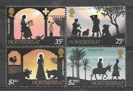 Montserrat N° 501/04 YVERT NEUF * - Montserrat