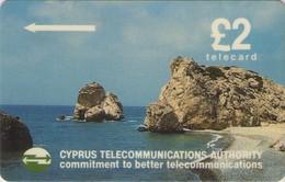 TARJETA TELEFONICA DE CHIPRE. 14CYPB (139). - Chipre