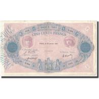 France, 500 Francs, 1921-01-29, KM:66i, TB+, Fayette:30.25 - 1871-1952 Anciens Francs Circulés Au XXème
