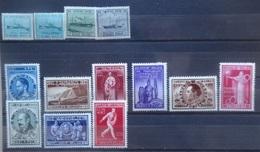 BELGIE 1946    Nr. 725-727 / 728-736   Postfris **    CW  19,25 - Unused Stamps