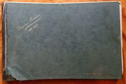 ALBUM DE CAMPAGNE - MARINE NATIONALE - CROISEUR ECOLE DUGUAY TROUIN - 1908/1909 - 150 PHOTOGRAPHIES VARIEES - Libri, Riviste & Cataloghi
