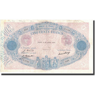 France, 500 Francs, 1929-07-26, KM:66k, TTB, Fayette:30.32 - 1871-1952 Anciens Francs Circulés Au XXème