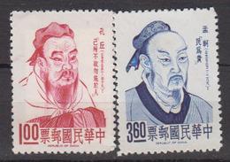 TAIWAN      1965      N .   522 / 523    ( Sans Gomme )     COTE        15 , 00    EUROS         ( S 923 ) - 1945-... Repubblica Di Cina