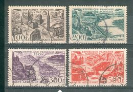 FRANCE ; Aériens ; 1949 ; Y&T N° 24-25-26-27 ; Oblitéré - 1927-1959 Oblitérés