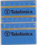 SPAIN  711B/711D - Phonecards