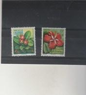 Nouvelle Calédonie  Yvert 288 ** Et 289 **  Neufs Sans Charnière  - Fleurs - Nouvelle-Calédonie