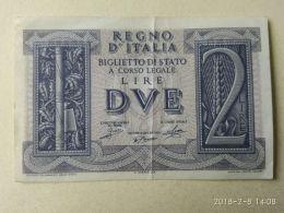2 Lire 1939 - Italia – 2 Lire