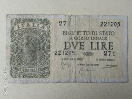 2 Lire 1944 - Italia – 2 Lire
