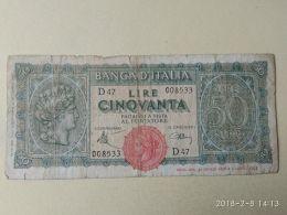 50 Lire 1944 - [ 1] …-1946 : Regno