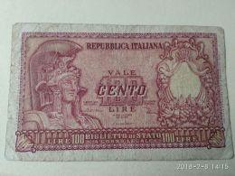 100 Lire 1951 - [ 2] 1946-… : Républic
